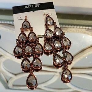 Apt.9 Earrings New with tag